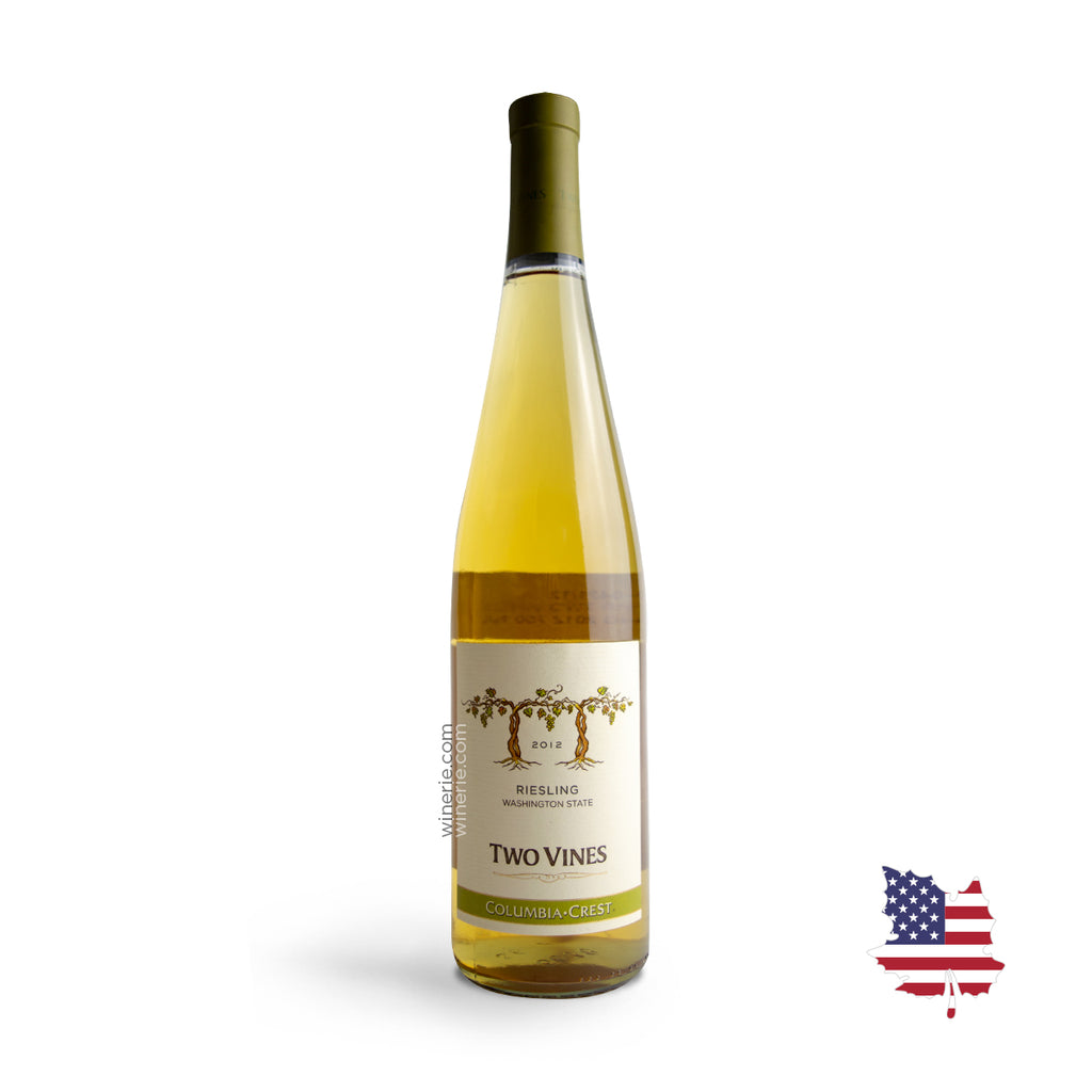 TWO VINES RIESLING 2012 750ML
