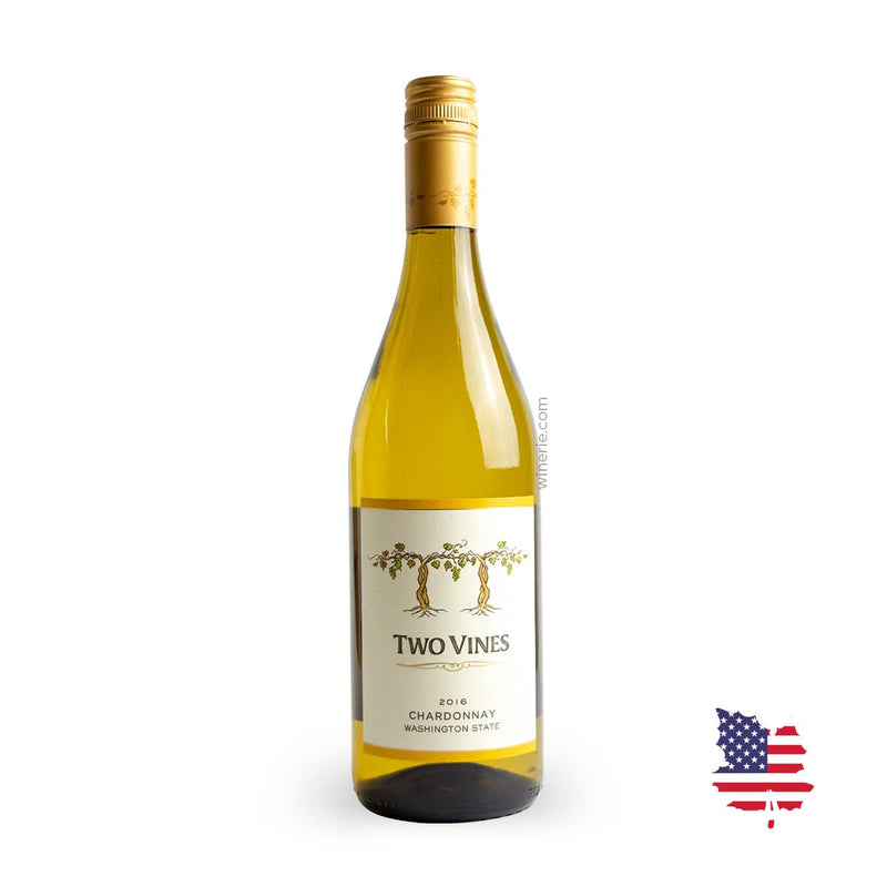 "Two Vines ""Unoaked"" Chardonnay 2016 750ml"