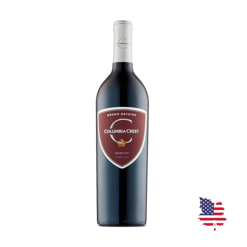 COLUMBIA CREST MERLOT GRAND ESTATES 2014 750ML