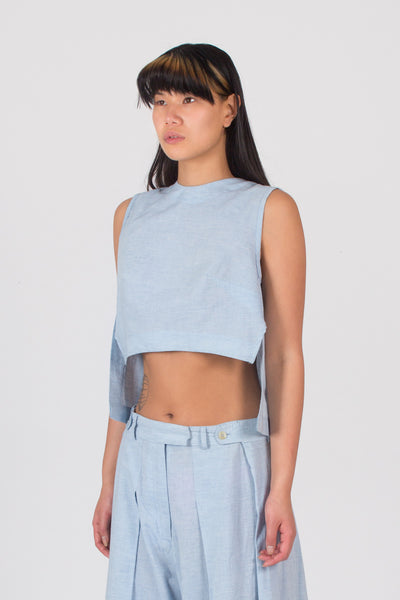 Amsonia Crop Top