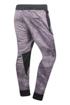New Men Fleece Heather Jogger Pants