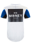 New Men Jersey Pin Stripe T-Shirt
