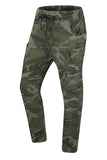 New Men Ripped Stone Cargo Joggers