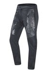 New Men Gray Jogger Pants Abstract Slim Fit