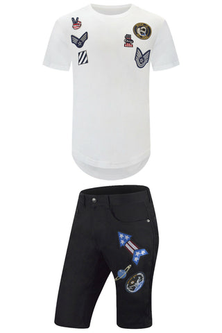 New Space T-Shirt Shorts Outfit