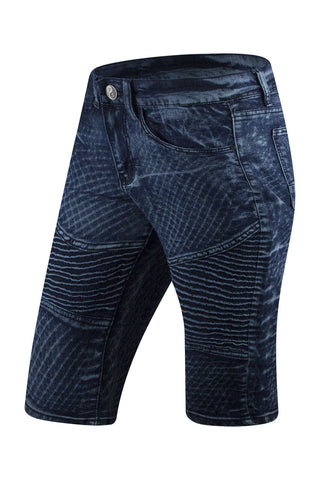 New High Quality Moto Denim Shorts