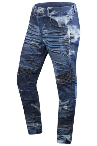New Men Denim Blue Biker Premium Jeans