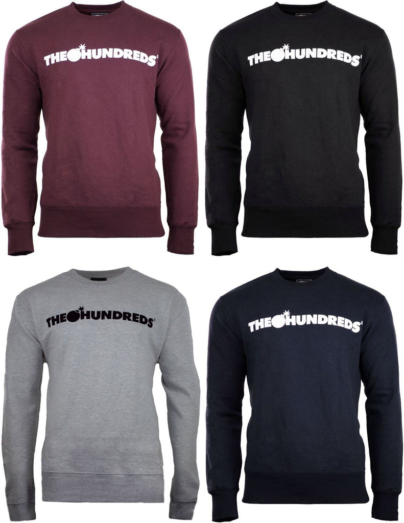 The Hundreds Sweatshirt Sweater Pullover Men Sizes Long Sleeve Shirt Bomb Sweats