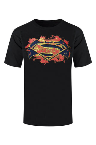 New Men Batman VS Superman Shirt Half All Sizes Marvel DC Comics Superheroes