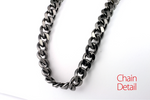 New Stainless Steel Necklace HEMATITE Color