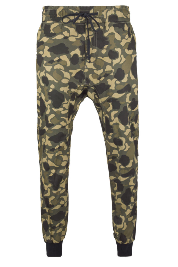 New Men Fleece Joggers Army Camo Joggers Pants Zipper Pockets ... : mens quilted sweatpants - Adamdwight.com