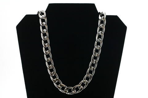 "New Stainless Steel Necklace Silver Chain 28"" Length"