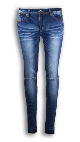 Women Skinny Jeans Pants Ripped Solid Slim Fit All Women Sizes