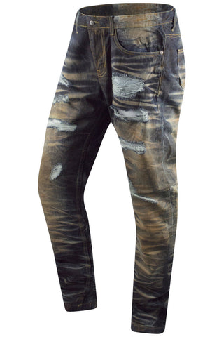 New Premium Denim Rust Blue Slim fit Jeans
