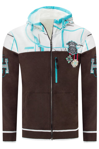New Men Jewel House Zip Up Jacket