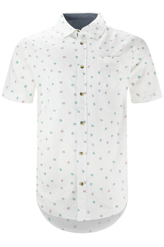 NEW Men Stretchy Button Up Donuts