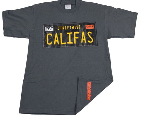 Streetwise Califas License Plate