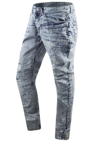 New Denim Paint Splattered premium Jeans Slim Fit