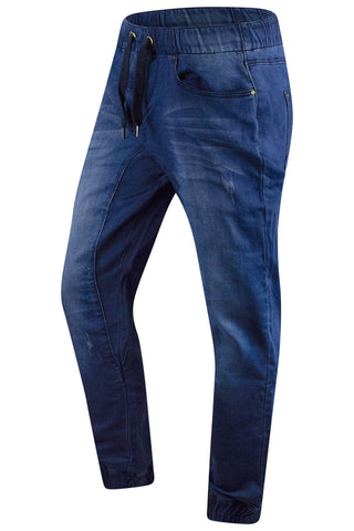 New Men Denim Blue Jogger Pants