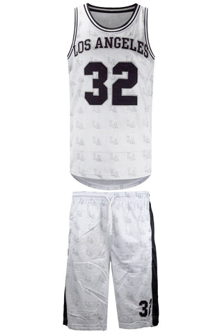 New Men Los Angeles Jersey Set