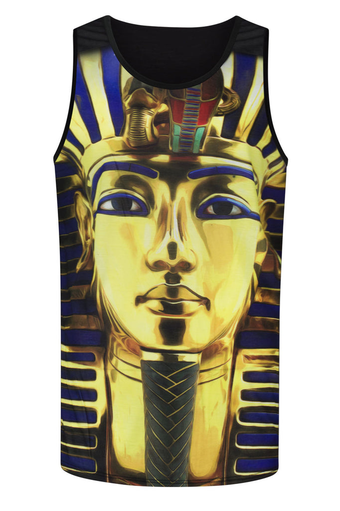NEW Men Sublimation Tank Top Shirt Pharaoh Egypt Mummies Mummy Shirt  Sizes S-XL