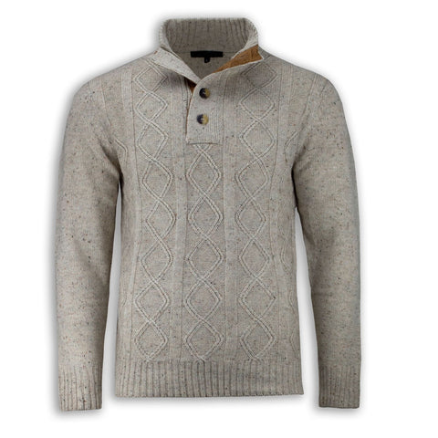 New Men Knitted Long Sleeve Sweater