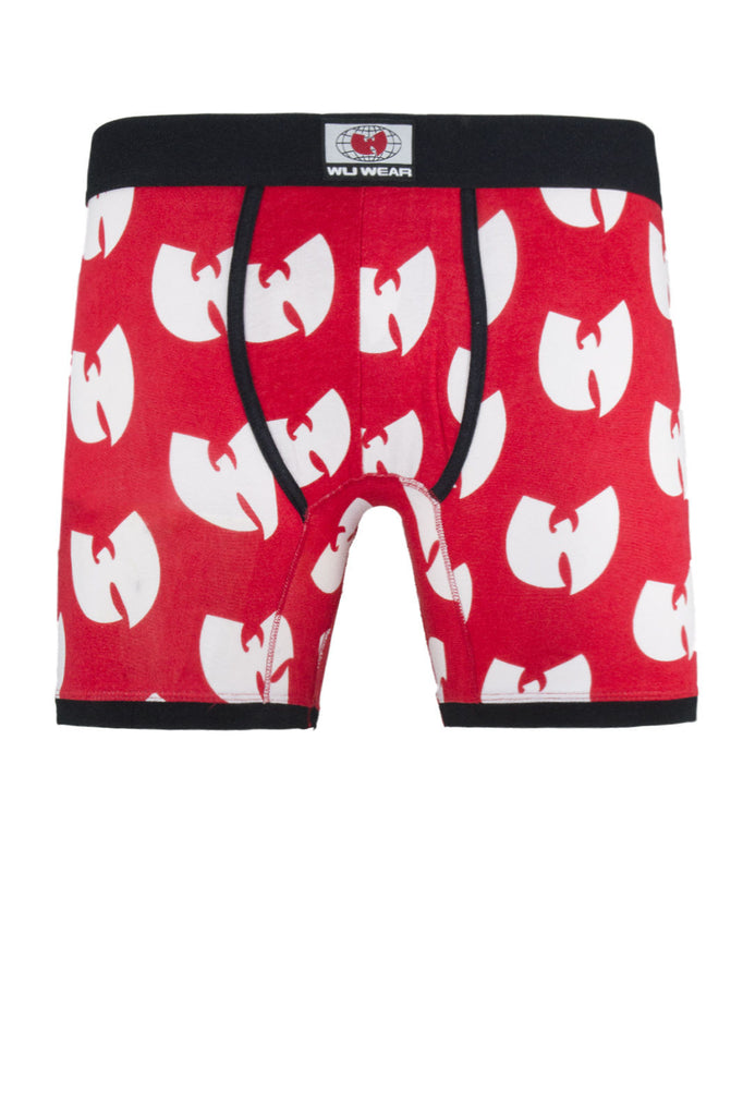 NEW Men Wu Tang Clan Boxer Briefs Sizes S M L XL Black Red Rap Music