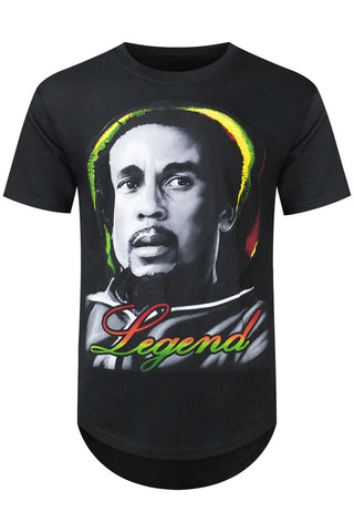 New Men Bob Marley Legend T-Shirt