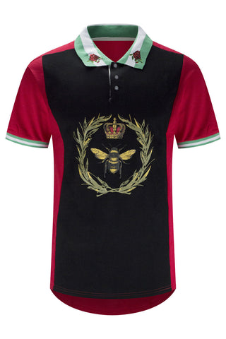 NEW Men Polo T-Shirt Bee