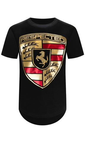 New Gold Foil Respected T-Shirt
