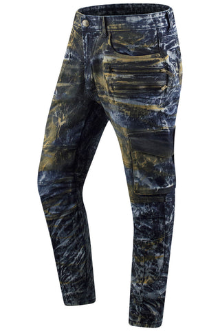 New Denim Cargo Rusted Color Premium Jeans