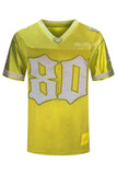 NEW Men Los Angeles #80 Jersey 5 Colors Mesh Material LA California Sizes M-3X