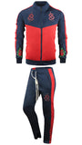 2 Piece Tracksuit Flower Snake Embroidery