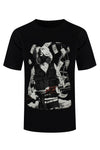 NEW Men Marylin Monroe Smoke Mask Machine Gun Cash Money Shirt Sizes M-XL