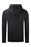 New Men 2 Tone Jacket Hooded Sweater