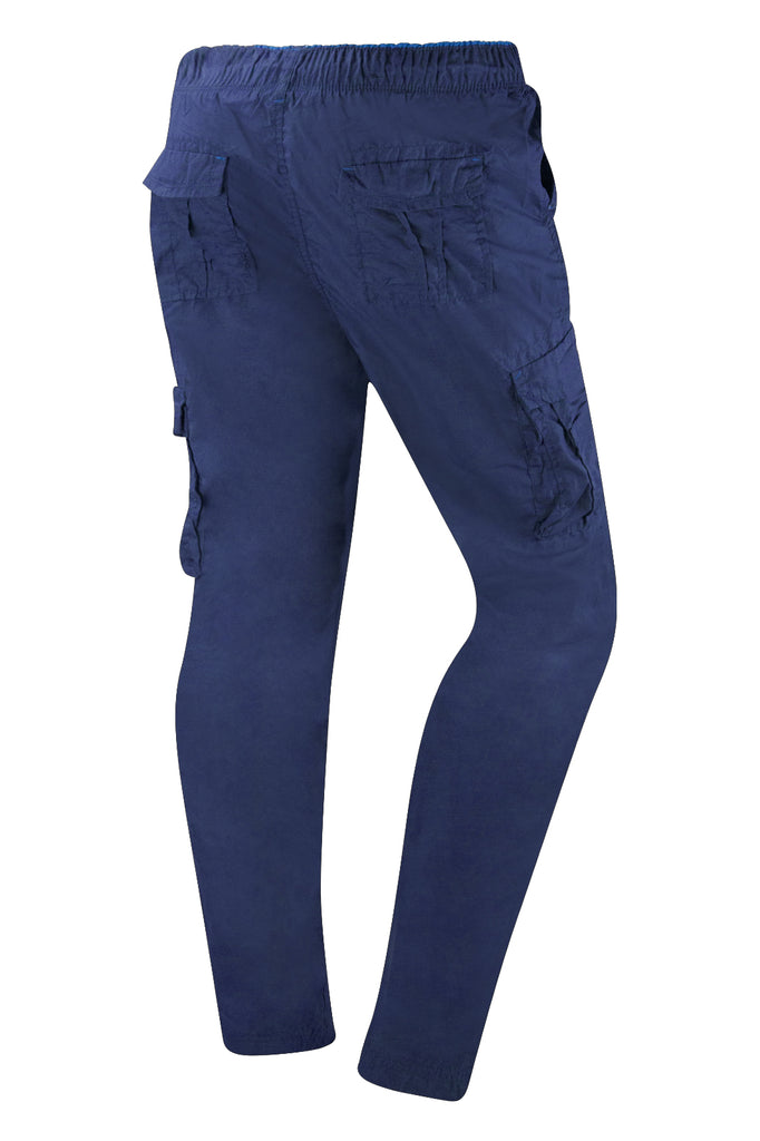 New Men Cargo Pants Polyester Shell