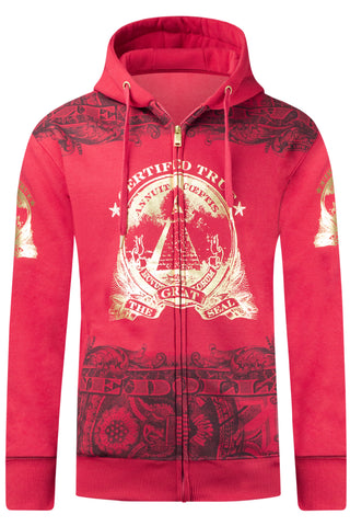 New men Eye Of Providence Hooded Jacket Sweater