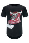 New Chicago Bull Shoe T-Shirt