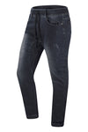 NEW Men Denim Joggers Blue With Rip