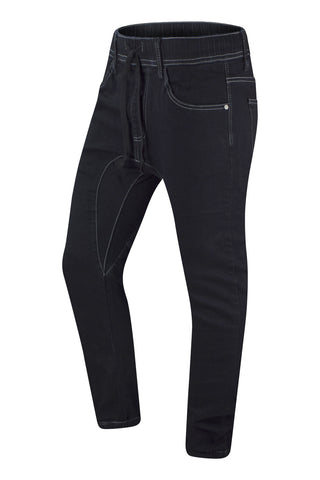 NEW Men Denim Black Joggers