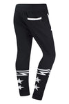 New Men Aviator Black Jogger Pants Regular Fit