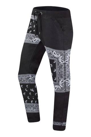 New Men Semi Bandana Jogger Pants Regular Fit