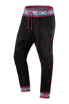 New Men Aztec Jogger Pants Slim Fit