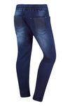 New Men Biker Denim Jogger Pants