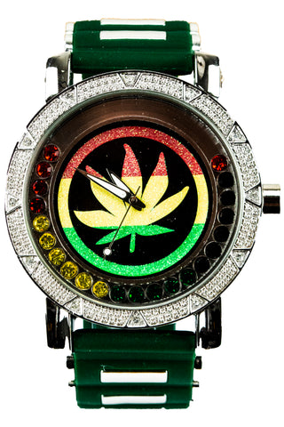 New Bob Marley Colored Jewlery Watch