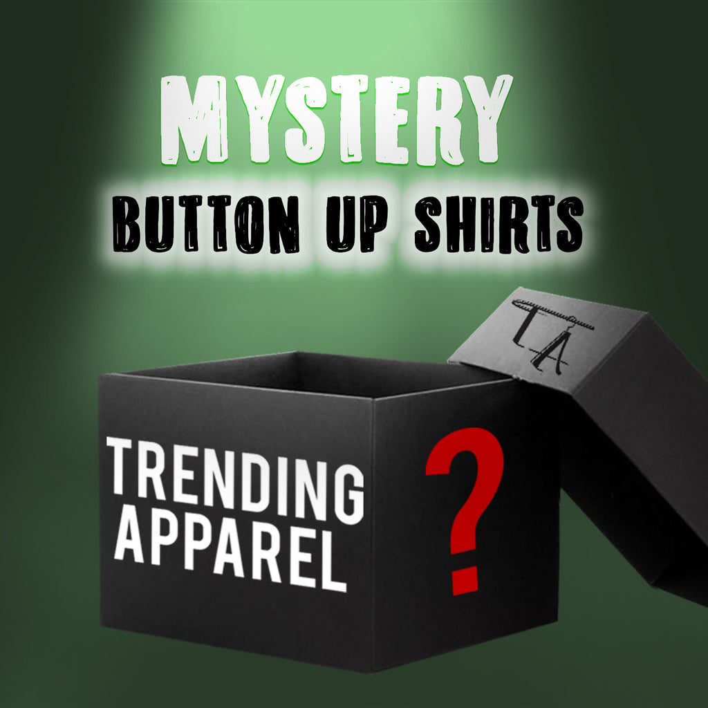 Mystery Box 2 Button Up Striped Shirts