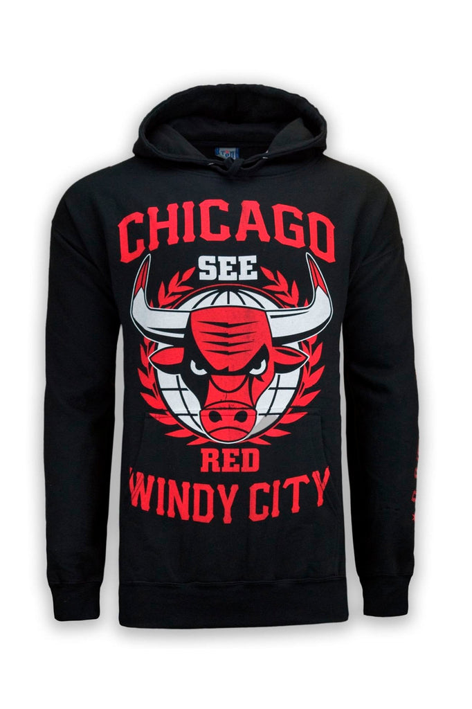 NEW Men Chicago Bulls Windy City Red Black Sweater Hoody M-3X Long Sle –  Trending Apparel e0c611cf1a2d