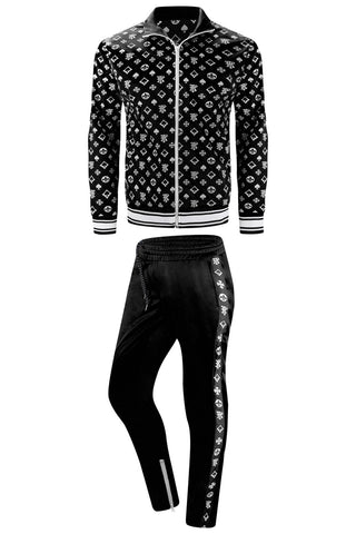 New Men Hip Hop Track Suit Jacket and Pants