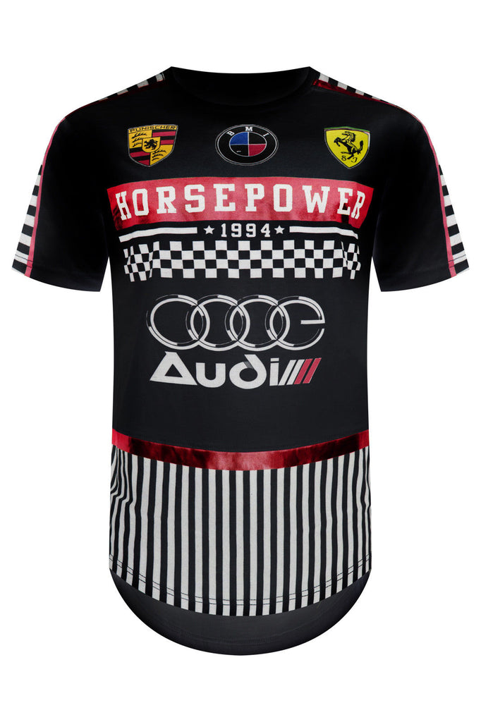 New Men Horsepower Racing GT T-Shirt