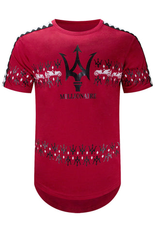New Men Millionaires Club Racing T-Shirt